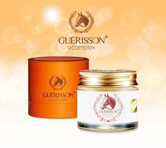 KEM DƯỠNG DA ĐẦU NGỰA GUERISSON 9 COMPLEX - Mỹ Phẩm BeautyPrincess.vn